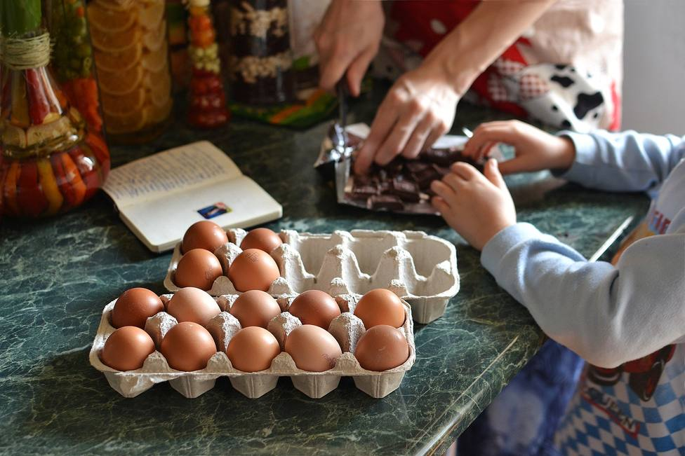 Cinco platos que puedes elaborar con los pequeños durante la cuarentena