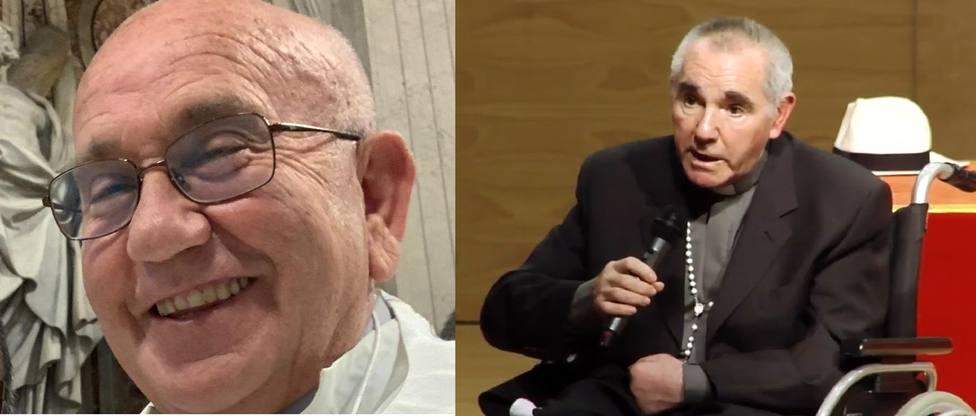 Sacerdotes Alfonso Luna y Pedro Lozano