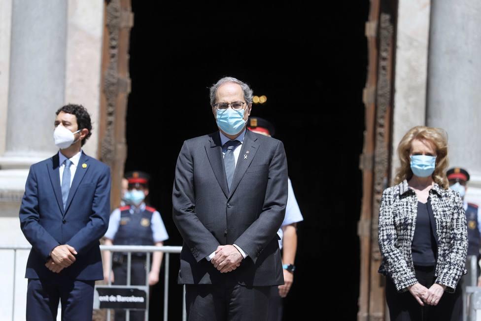 Coronavirus.- Torra decreta luto oficial hasta el 5 de junio en Catalunya