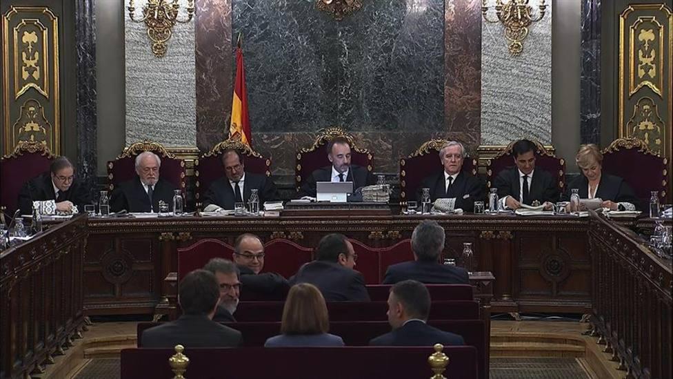 Imagen archivo del juicio del procés en el Tribunal Supremo