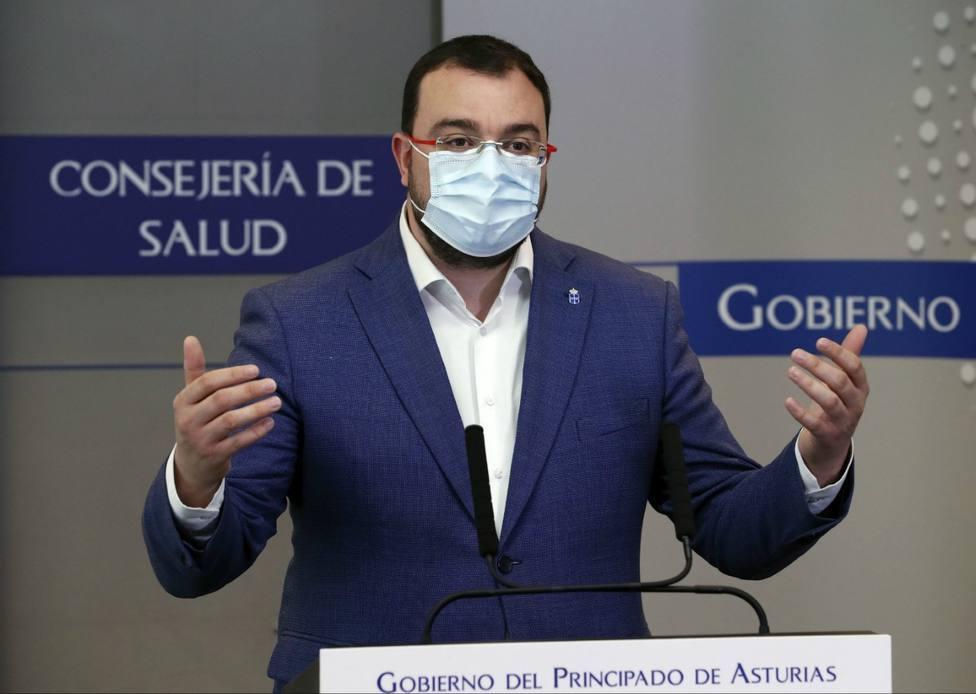 Adrián Barbón, presidente del Principado