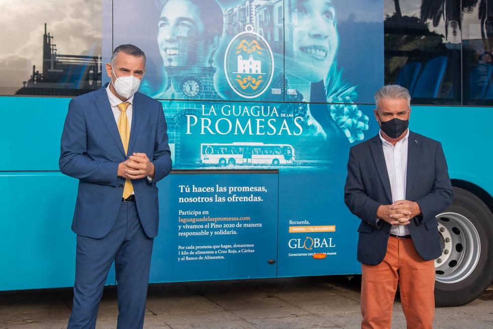 Global lleva las peticiones de los peregrinos a la Virgen del Pino