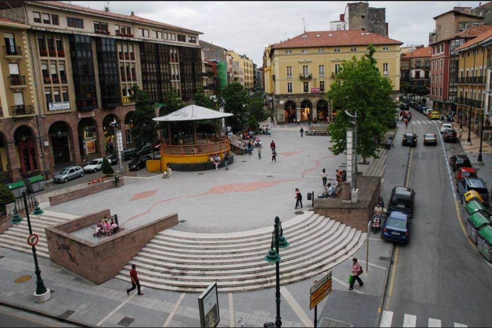 Plaza mayor Torrelavega