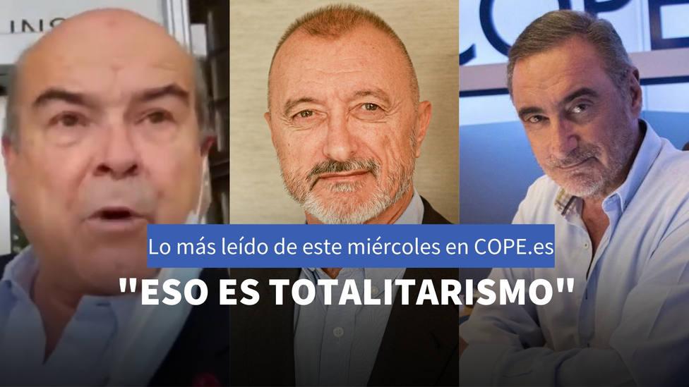 Pérez-Reverte y la unión entre España y Portugal, entre lo más leído de este miércoles