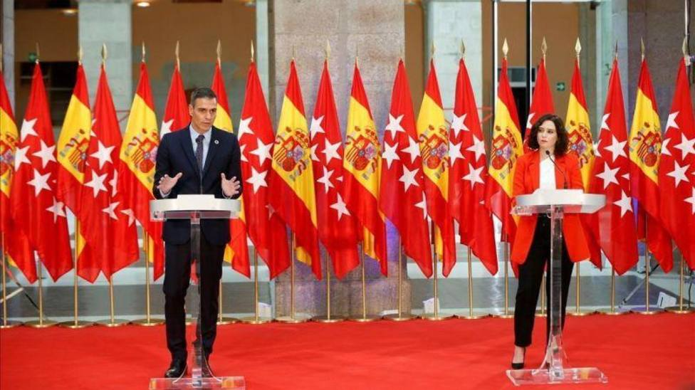 El Gobierno de España estudia tomar el control sanitario de Madrid si la Comunidad no cambia de estrategia