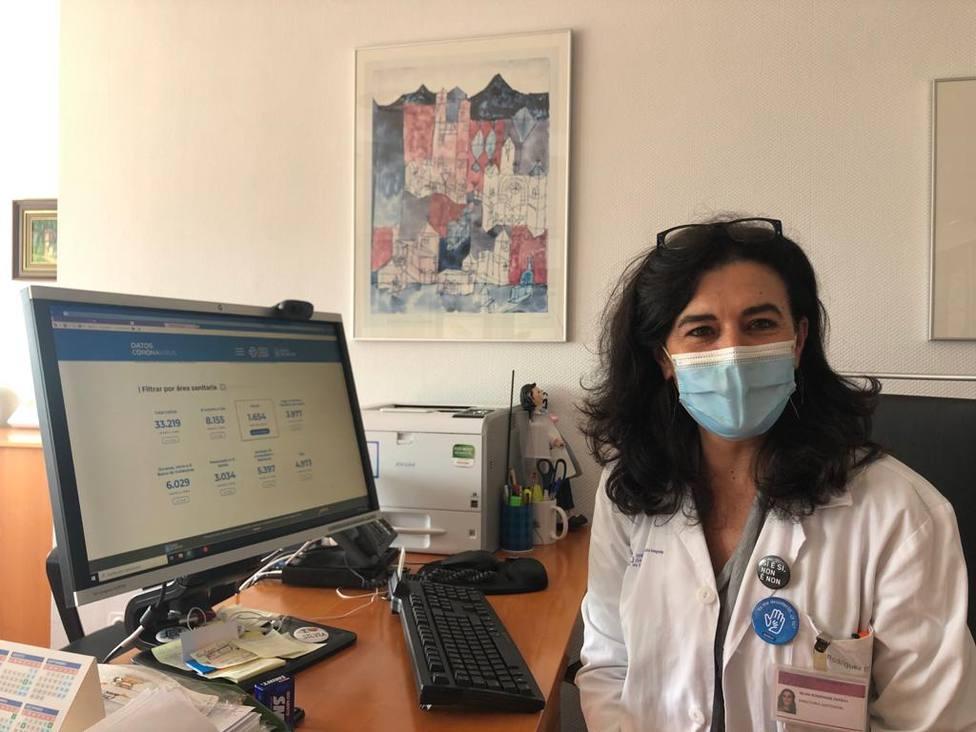 Silvia Rodríguez Dapena, es la directora de procesos asistenciales del Área Sanitaria de Ferrol