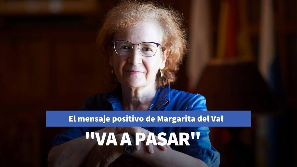 Margarita del Val lanza este mensaje positivo y anticipa cómo acabará la pandemia