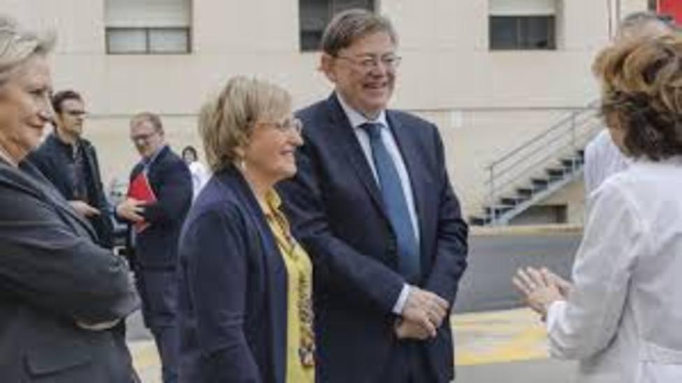 El presidente Puig y la consellera de Sanidad
