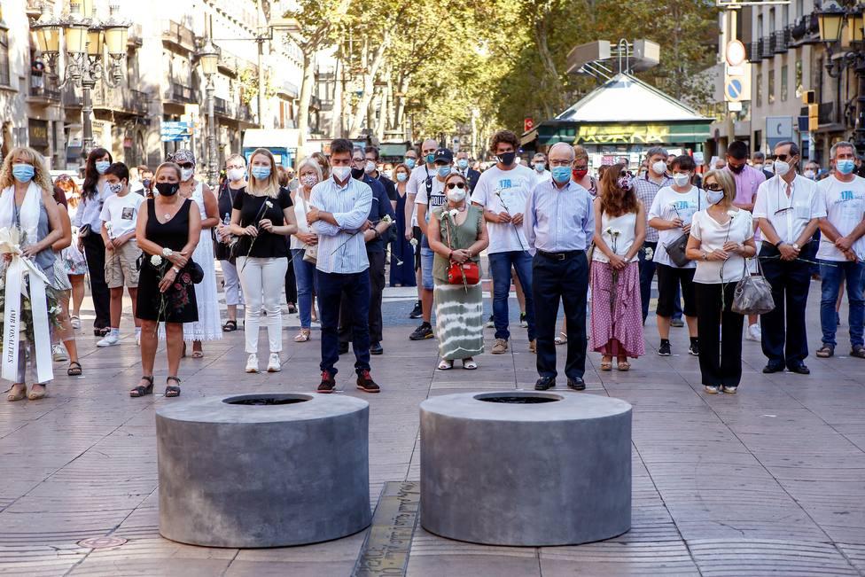 Empieza en la Audiencia Nacional el juicio a los tres acusados por los atentados de la Rambla de Barcelona