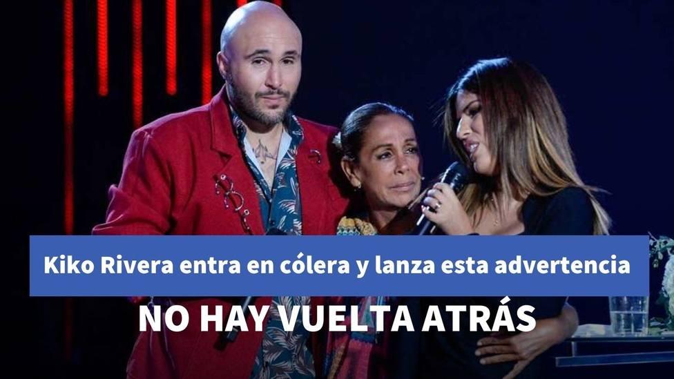 Kiko Rivera entra en cólera tras el comunicado de Isabel Pantoja y lanza una advertencia a su madre
