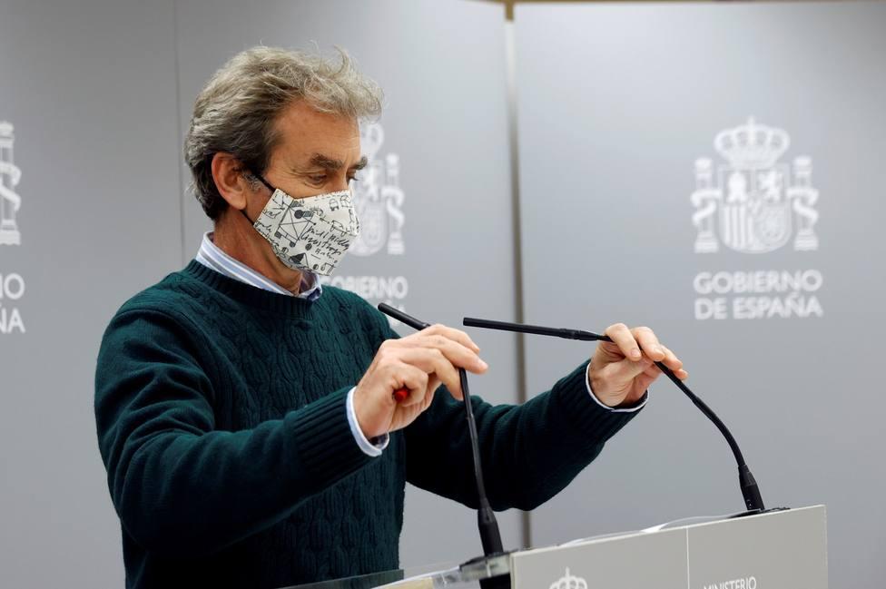 Fernando Simón: La capacidad del sistema es más que suficiente para vacunar