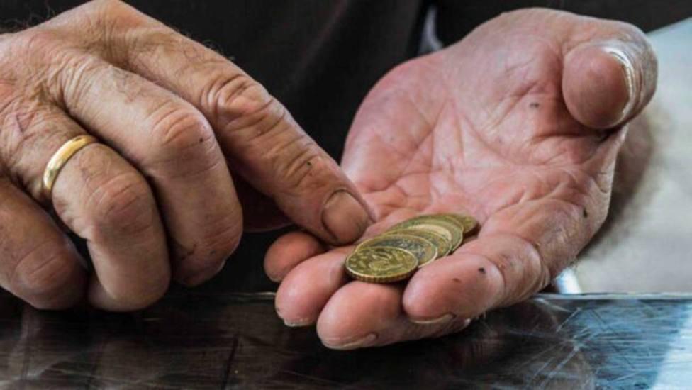 La pensión media de jubilación de La Rioja es de 1.117 euros frente a la media nacional de 1.169