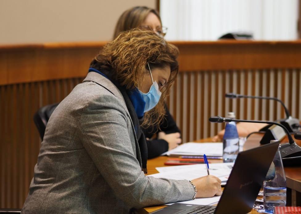 Patricia Otero, diputada por Lugo del PSdeG-PSOE en el Parlamento de Galicia