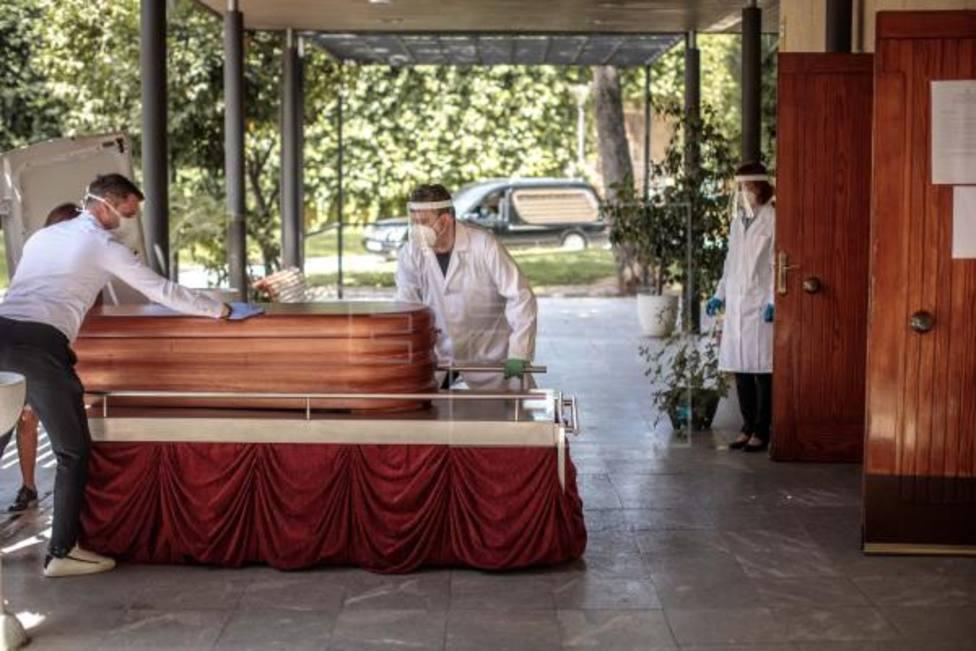 Funeral COVID en València