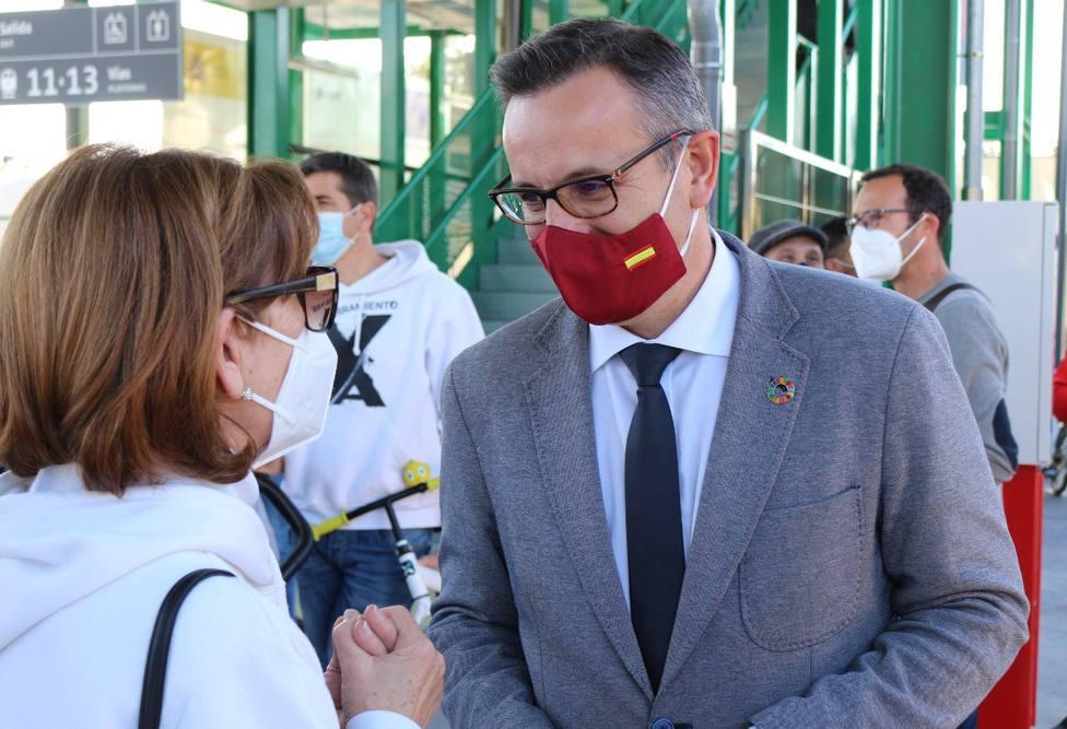 Diego Conesa no formará parte del Gobierno regional en caso de prosperar la moción de censura