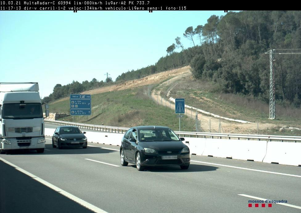 Detenido por conducir triplicando la tasa de alcohol en el Alt Empordà (Girona)
