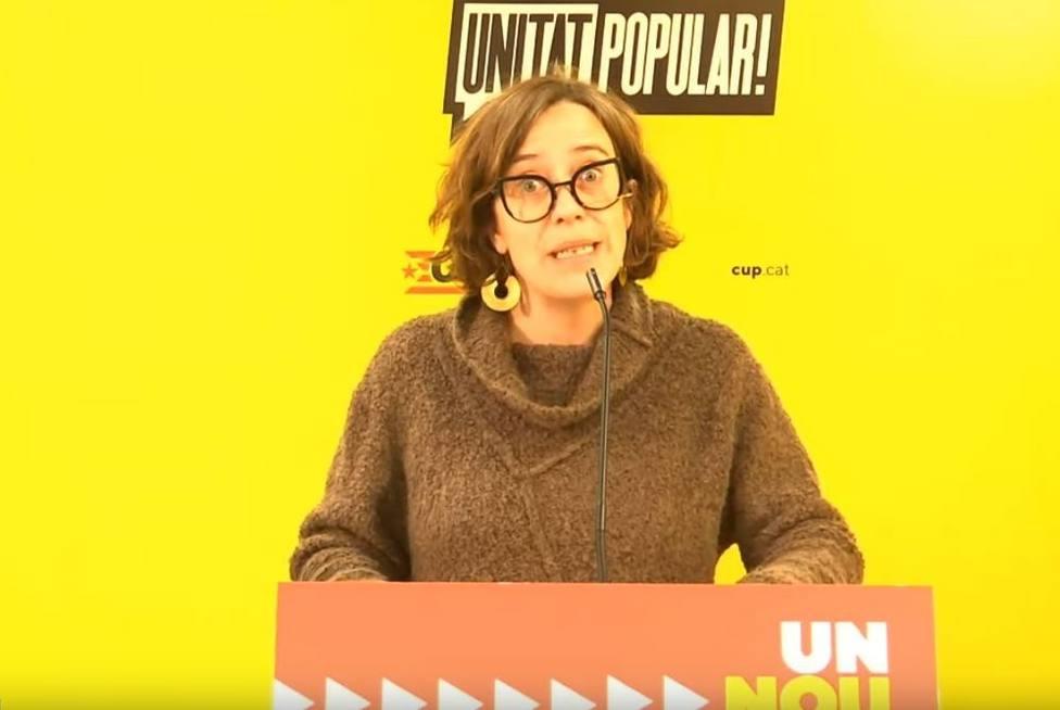 Reguant (CUP) asegura que ERC y Junts les están situando fuera de las negociaciones del Govern catalán