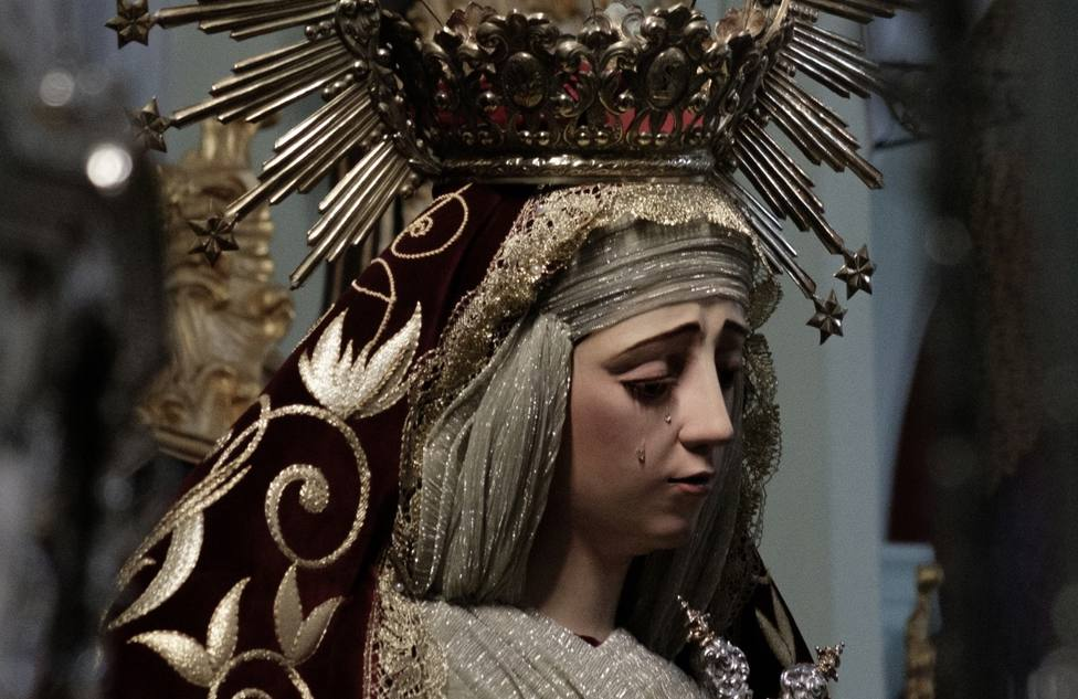 Virgen de la Amargura, de Badajoz