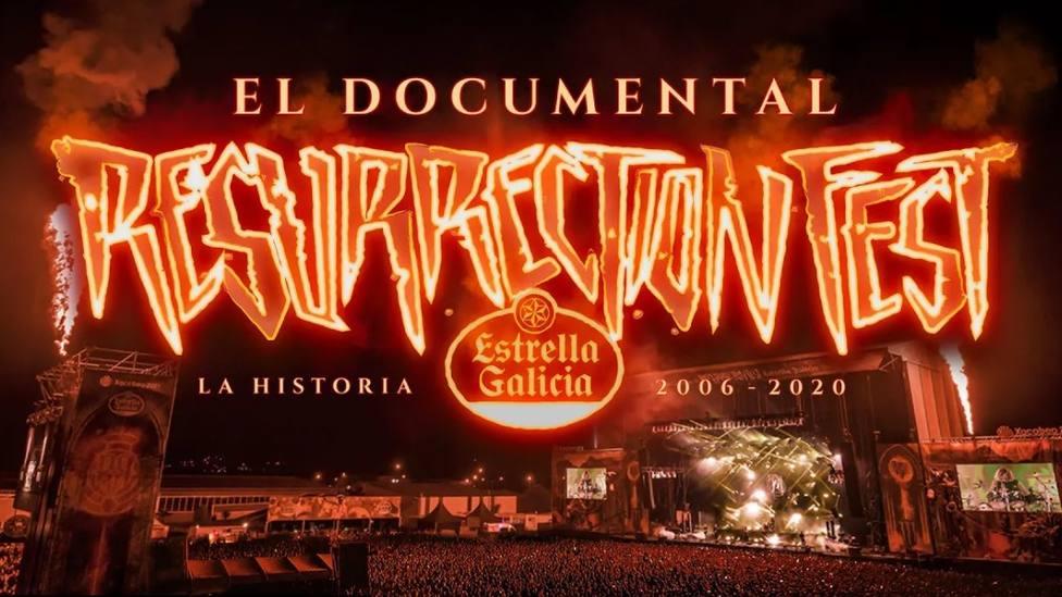 Cartel previo del documental Resurrection Fest: la historia (2006-2020)