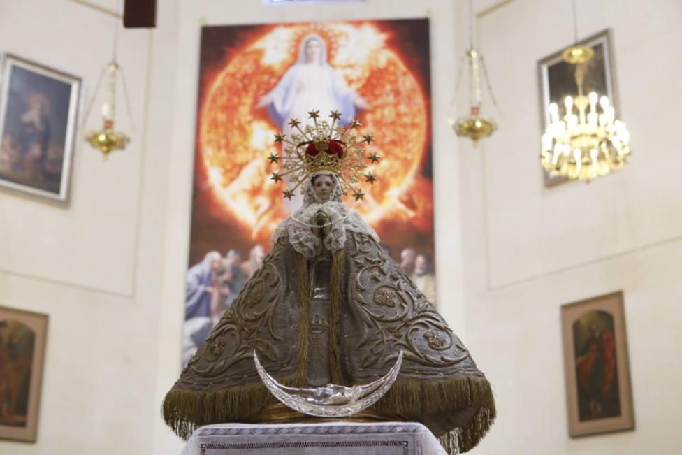 La concatedral acoge la celebración del 97 aniversario de la coronación de Lledó