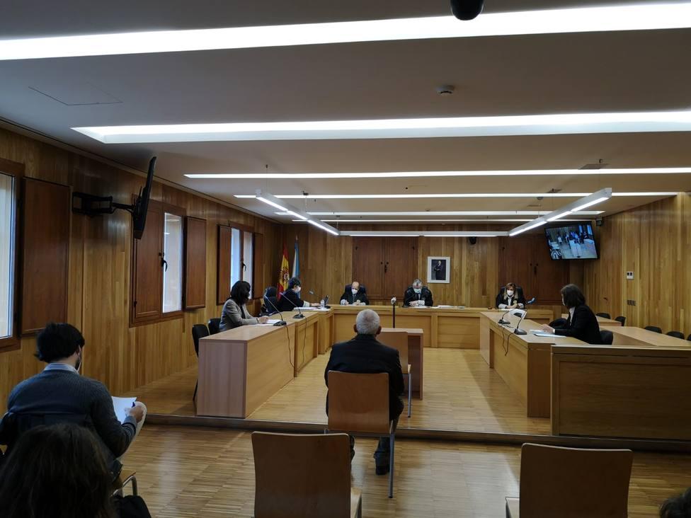 El juicio se celebró este martes en la Audiencia Provincial de Lugo