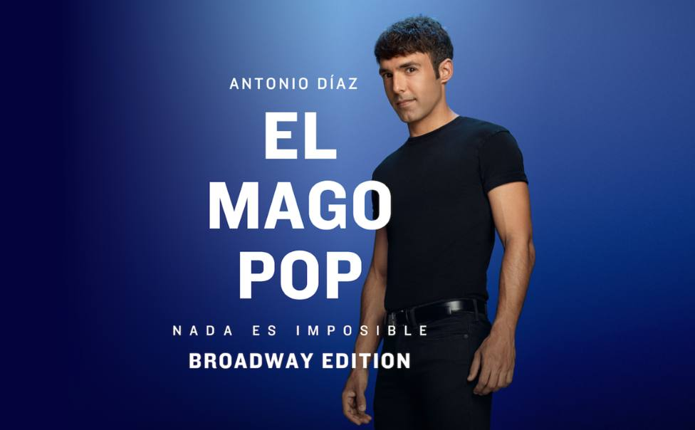 Antonio Díaz, EL Mago Pop, reabrirá el 9 de octubre el teatro Apolo de Madrid con su nuevo espectáculo
