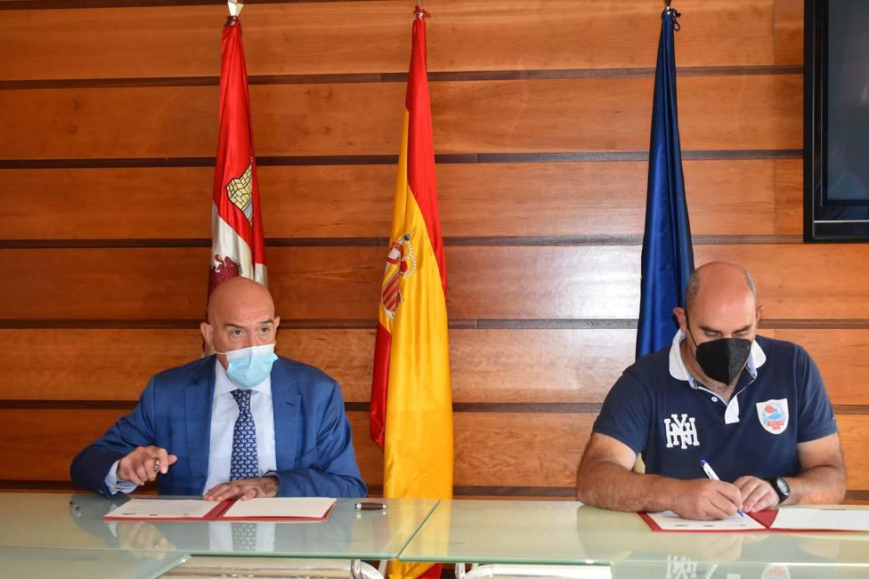 La Junta formaliza un convenio con la Comunidad de Regantes Tumecillo de San Zadornil (Burgos)