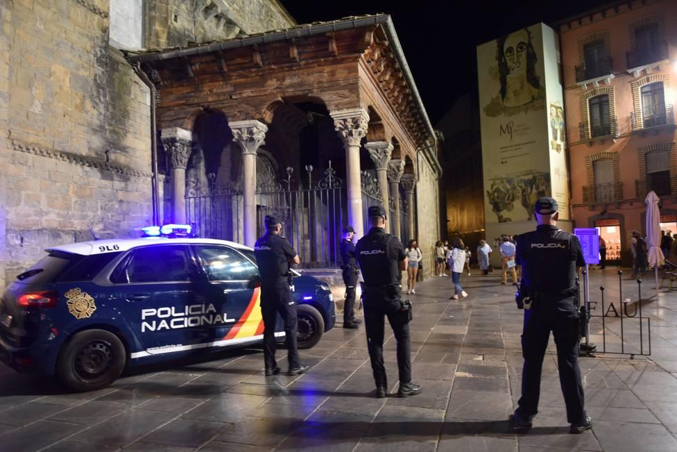 La Policía Nacional ha vigilado el cumplimiento de las medidas sanitarias en el ocio nocturno