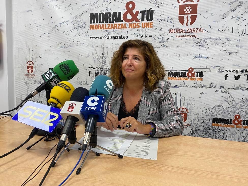 Virginia Ortiz, concejal de Empleo y Comercio de Moralzarzal
