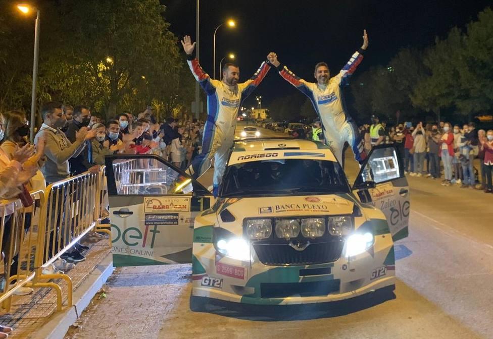 Edu Noriego y Dani Canelo hacen historia y se proclaman vencedores de la 50 edición del Rallye de la Vendimia