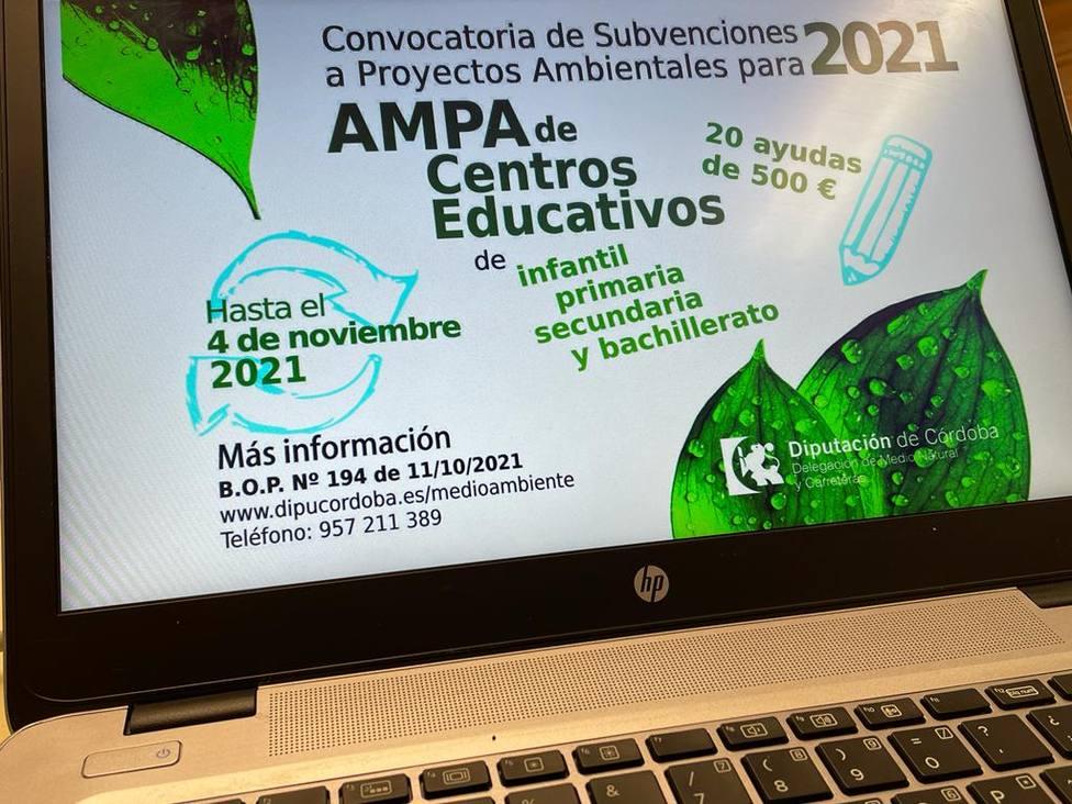 Abierta la convocatoria de ayudas para proyectos ambientales impulsados por las AMPAS de los centros escolares