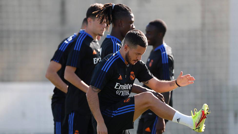 Entrenamiento de este jueves del Real Madrid (@RealMadrid)