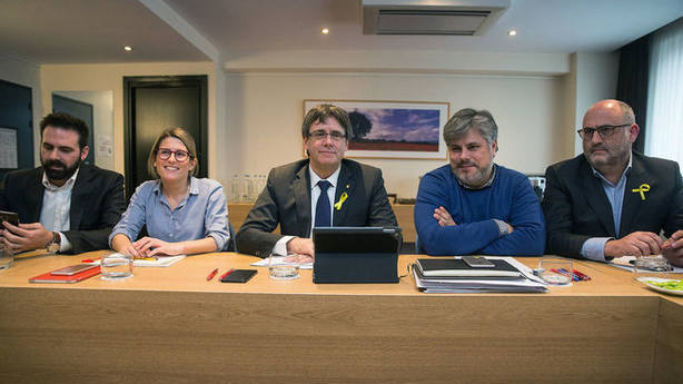 El exjefe de gabinete de Gobernación de Cataluña, ante el juez por el 1-O por la web del referéndum