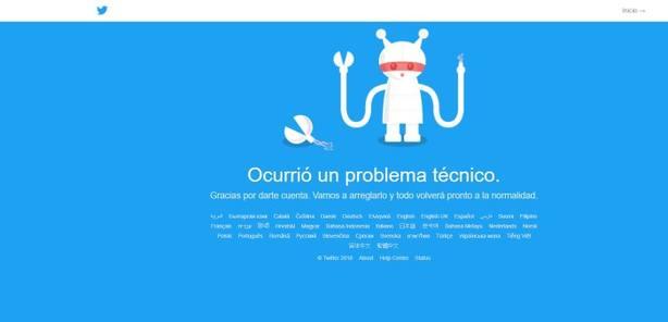 Twitterse ha caído durante la final de la Champions#UCLfinal #HalaMadrid #FinalChampions