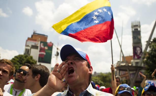 Protestas en Zulia (Venezuela)