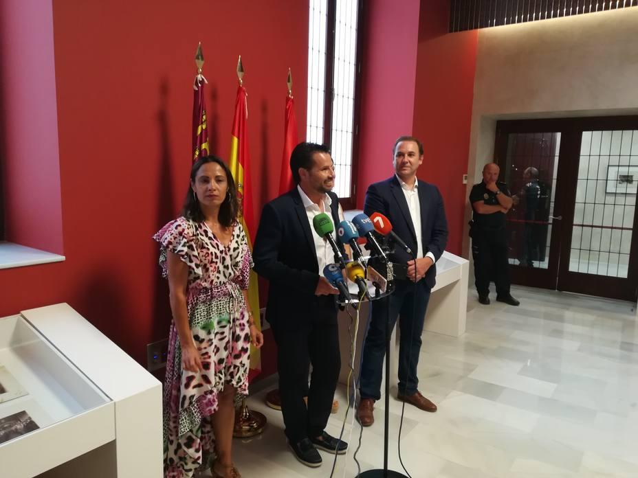 Mario Gómez, Ciudadanos Murcia, Este acuerdo va a hacer posible un cambio de la gestión municipal