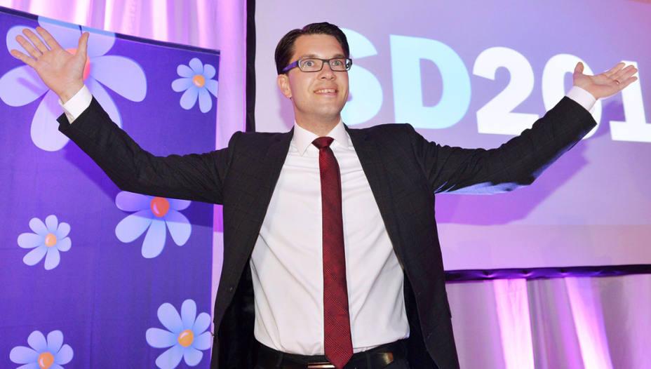 Jimmie Akesson, líder del Partido Sociademócrata sueco