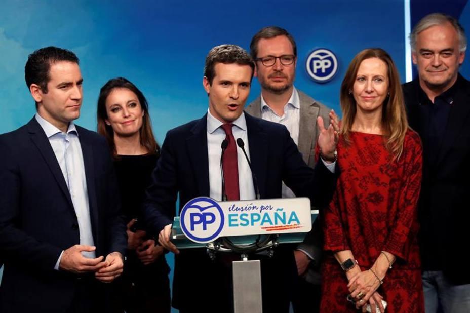 Casado: Que Pedro Sánchez vaya pensando en convocar elecciones