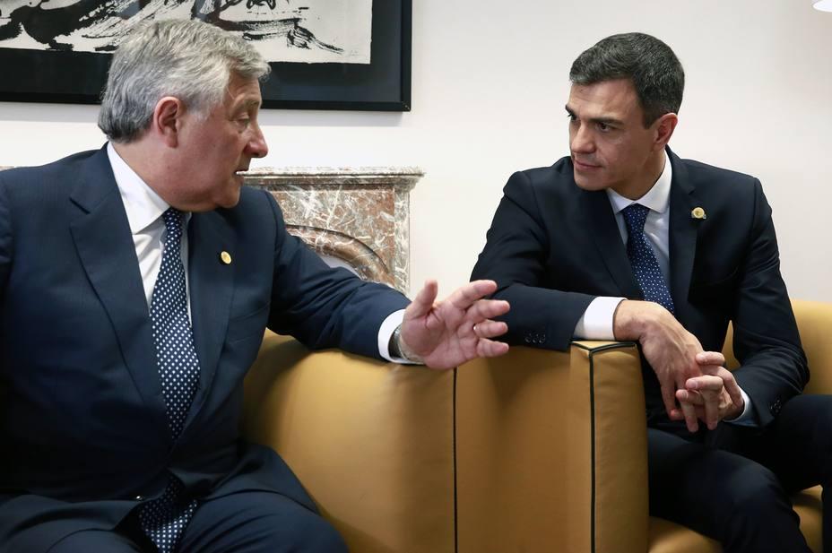 Tajani dice que Constitución hace de España país plenamente democrático: Quien diga lo contrario no dice la verdad