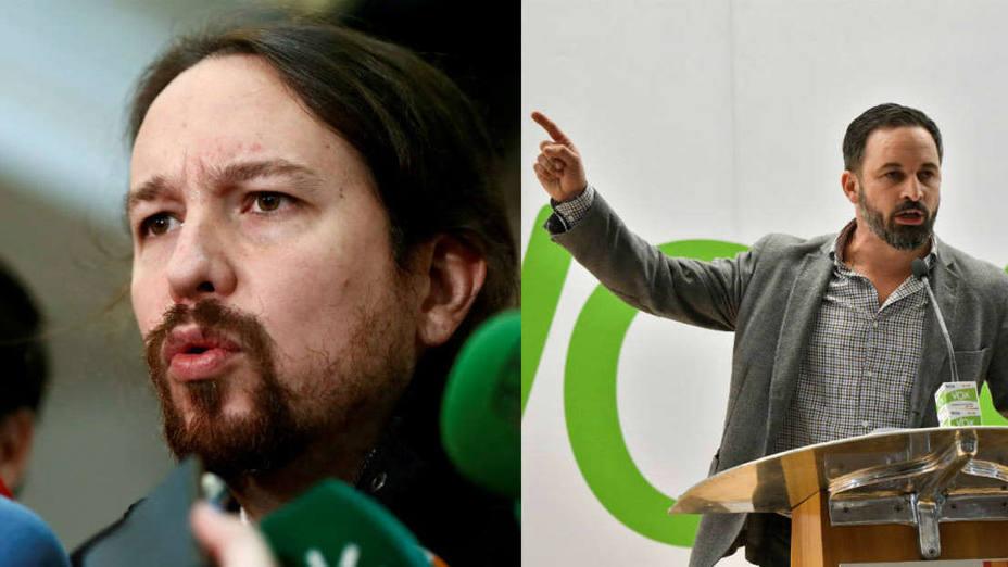 El grosero comentario sobre Abascal que ha hecho gracia a Pablo Iglesias