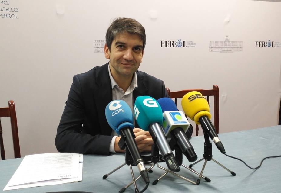 Jorge Suárez, alcalde de Ferrol