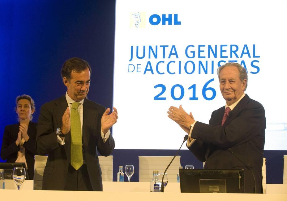 Villar Mir reduce su participación en OHL por debajo de la cota del 35%