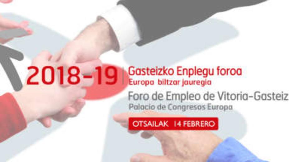 El Foro Empleo Gune arranca en Vitoria