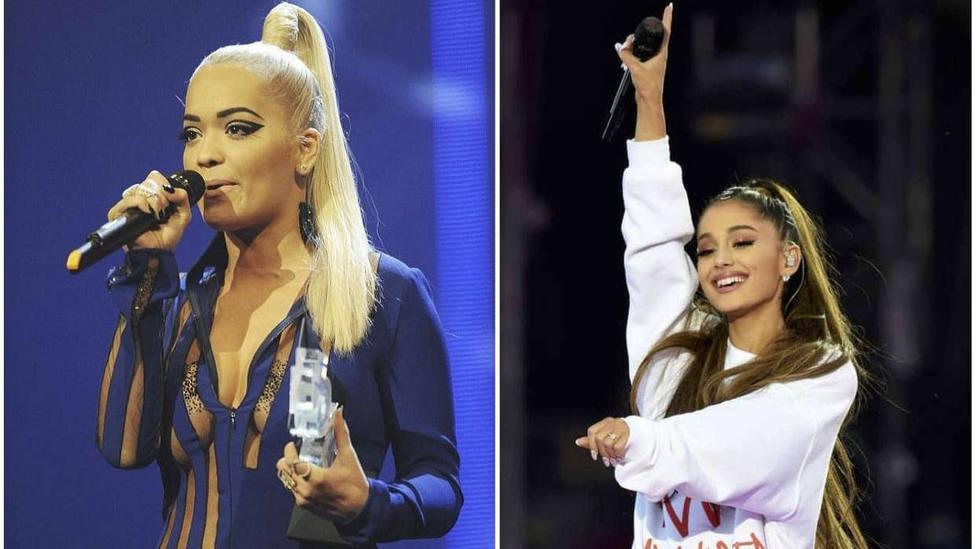 Rosalía y Ariana Grande son las reinas absolutas de las ponytails. Foto David Künzle