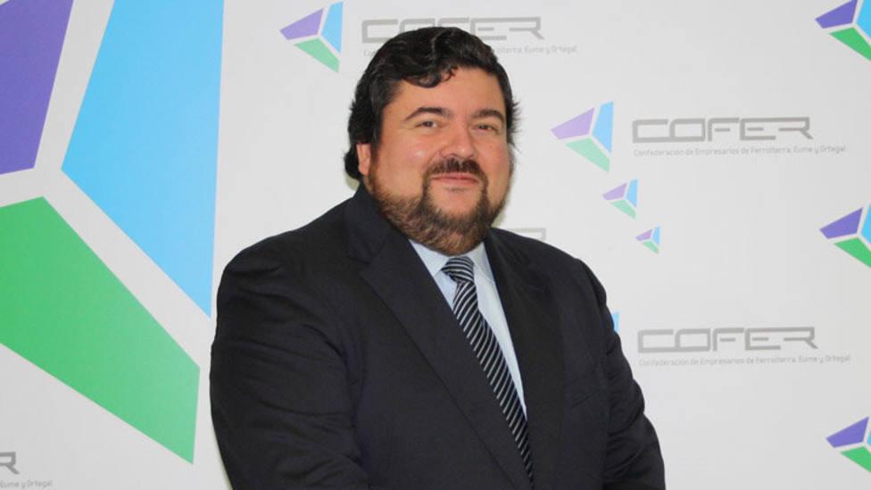 Cristóbal Dobarro, presidente de COFER