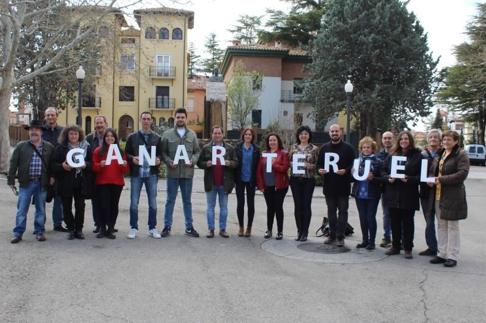 La candidatura de Ganar Teruel al Ayuntamiento de Teruel