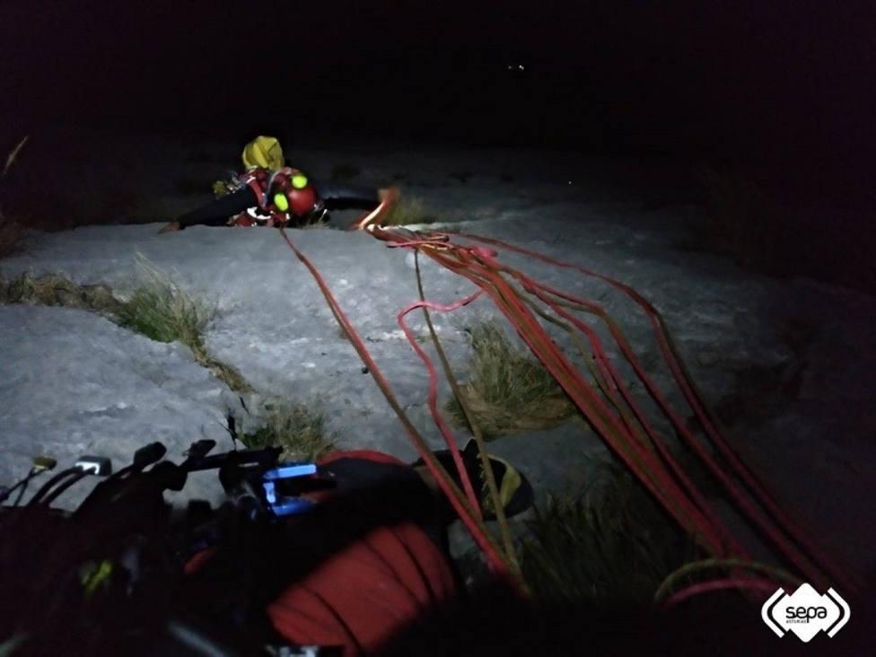 Rescate en el Pico Cueto de Cabrales