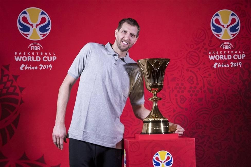 Nowitzki se une a Kobe Bryant y Yao Ming como embajador del Mundial de China