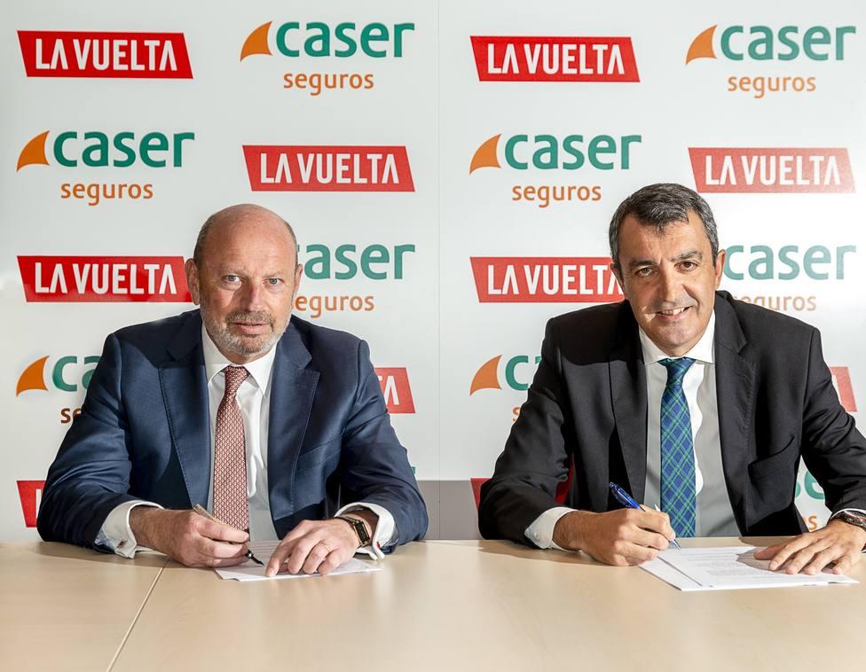 Caser patrocinará a La Vuelta a España durante los próximos tres años