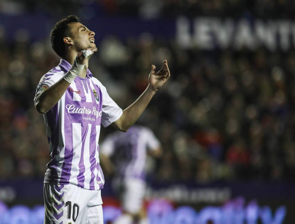Óscar Plano, jugador del Valladolid (Cordon Press)